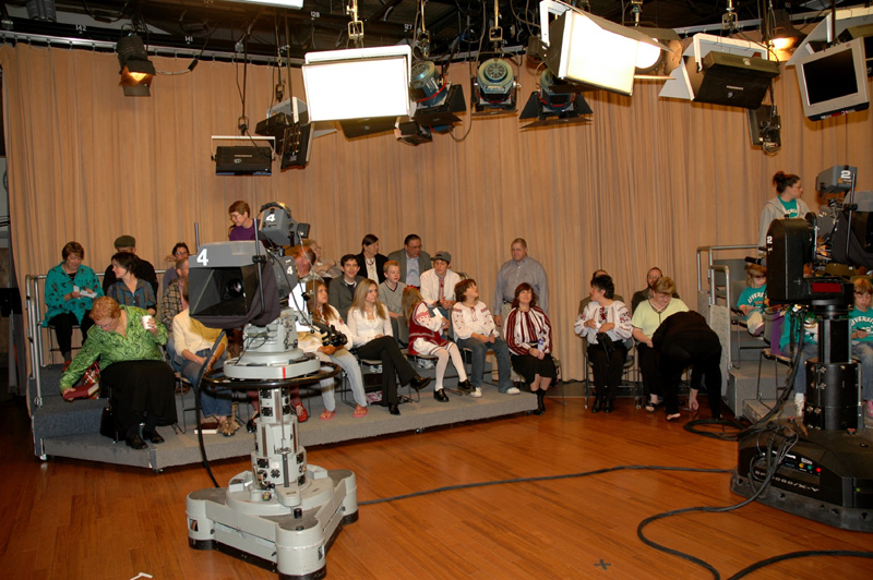 IN the KATU-TV studio